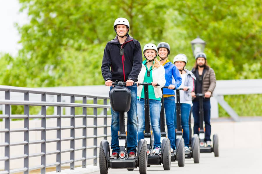 Russ Gentner explains that Listen Technologies ListenTALK can be used for Segway tours
