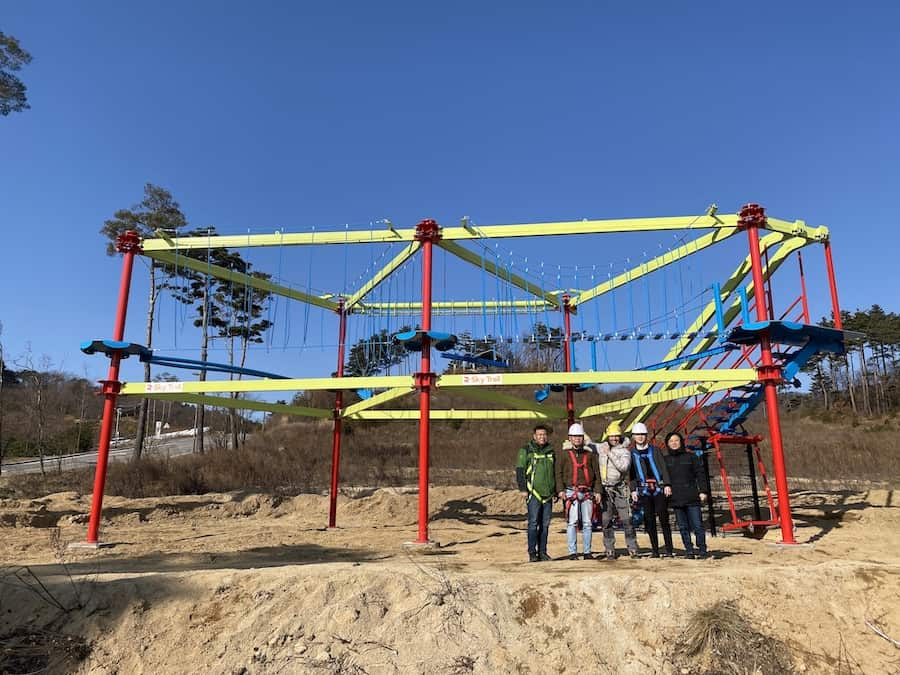 New Sky Trail at Pyeongchang Alpensia Resort in South Korea, by RCI Adventure Products