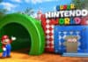 Super Nintendo World green tunnel entrance mario IP themed attractions
