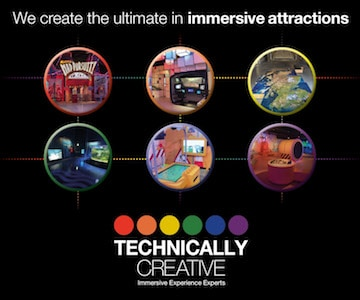 Technically Creative Immersive Attractions