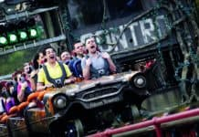 Alton Towers starting 40th birthday events with opening of Gangsta Granny