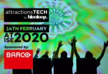 attractionsTECH by blooloop at ISE 2020 sponsored by Barco