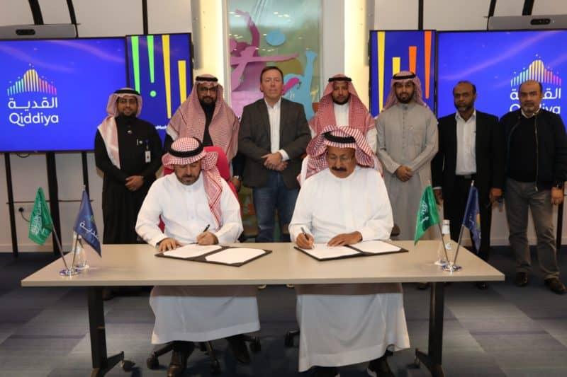 qiddiya signing ceremony