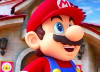 Mario from Super Nintendo World
