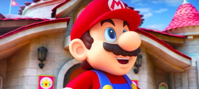 Mario from Super Nintendo World