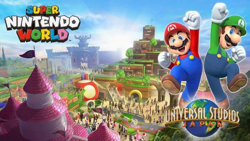 Super Nintendo World Japan. Universal Studios Japan is 5th on our list of the world's top theme parks of the decade