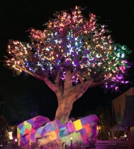 light and video integration for the Wildwood Tree at Dollywood is powered by Avolites solutions