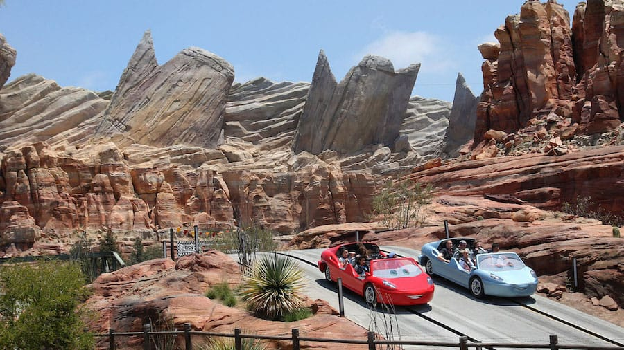 Cars Land Disney California Adventure