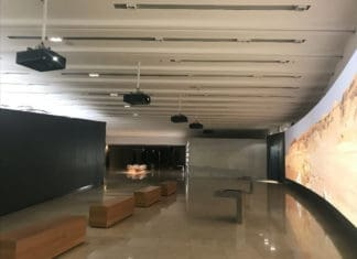 Digital Projection Kuwait Habitat Museum