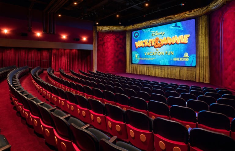 Mickey Shorts Theater at Disney's Hollywood Studios is showing Vacation Fun