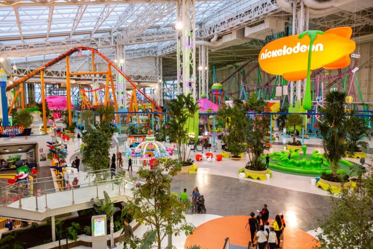 Nickelodeon Universe at American Dream