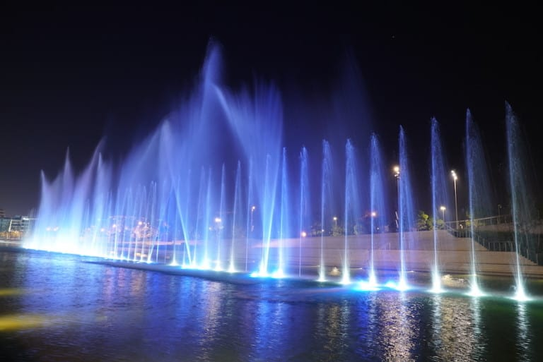 LCI fountains SNFCC
