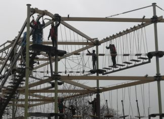 Innovative Leisure installs Sky Trail at West Park Leisure Centre