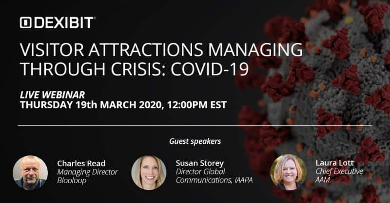 dexibit coronavirus COVID-19 webinar attractions crisis management