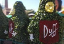 duff simpsons universal studios hollywood