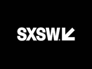 SXSW logo. Does the cancellation of this event due to coronavirus hint of coming trouble in the amusement park industry?