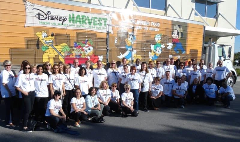 walt disney world food donations coronavirus