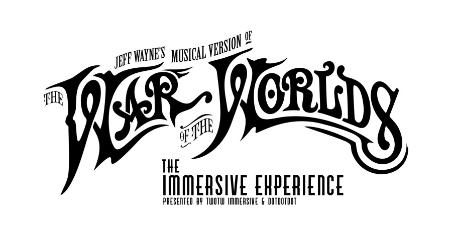 war of the worlds immersive experience logo