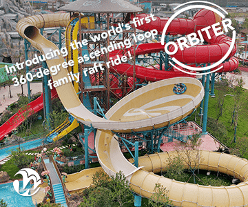 Whitewater West Waterslide Orbiter