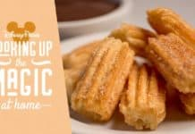 Disney magic moment churro recipe