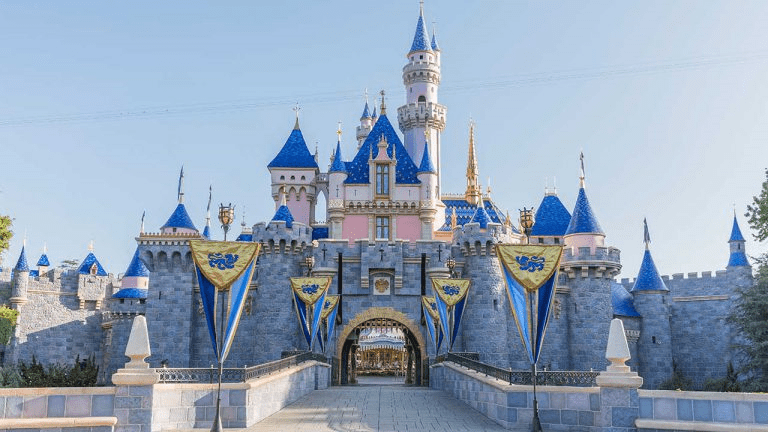Disneyland Castle reopening California theme parks