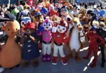 Mascot Rainbow Productions Characters