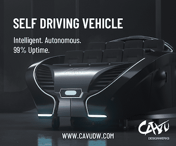 Cavu self driving vehicle ad