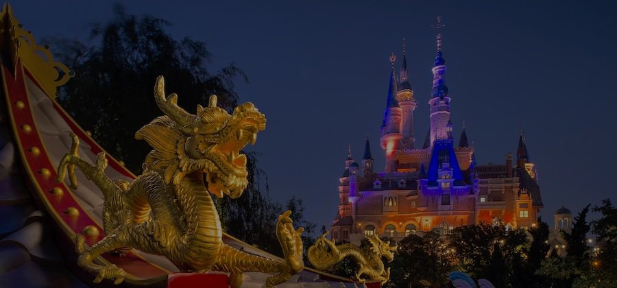 Pagoda at Shanghai Disney - China attractions coronavirus