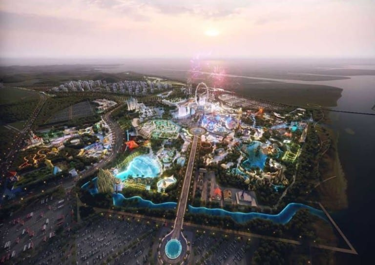Shinsegae Hwaseong International Theme Park Design