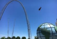 Skycoaster- Canada's Wonderland attractions industry COVID-19