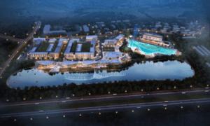 Retailtainment destination The Lake design