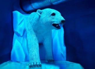 Themebuilders tarzan and jane polar bear