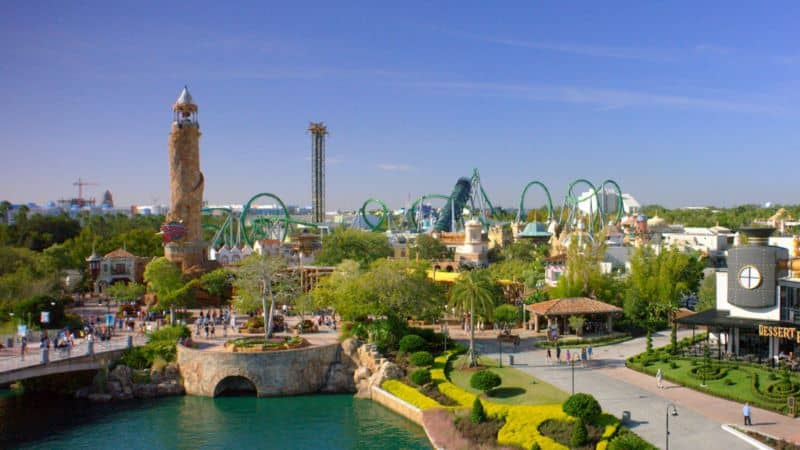 Universal Islands of Adventure attendance rebound
