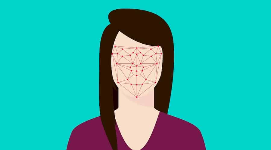 facial recognition illustration