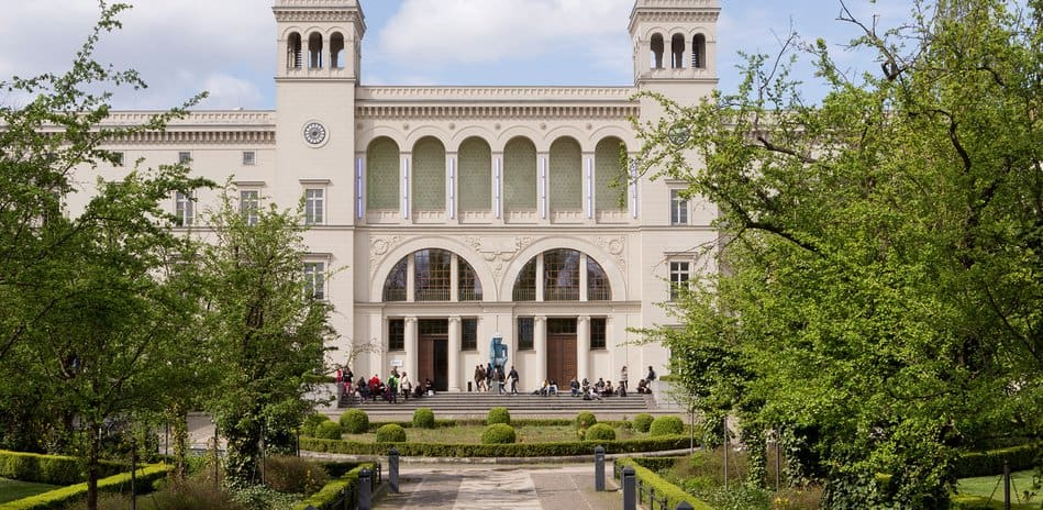 Exterior of Hamburger Bahnhof museum in Berlin, one of the first european museums to reopen after coronavirus