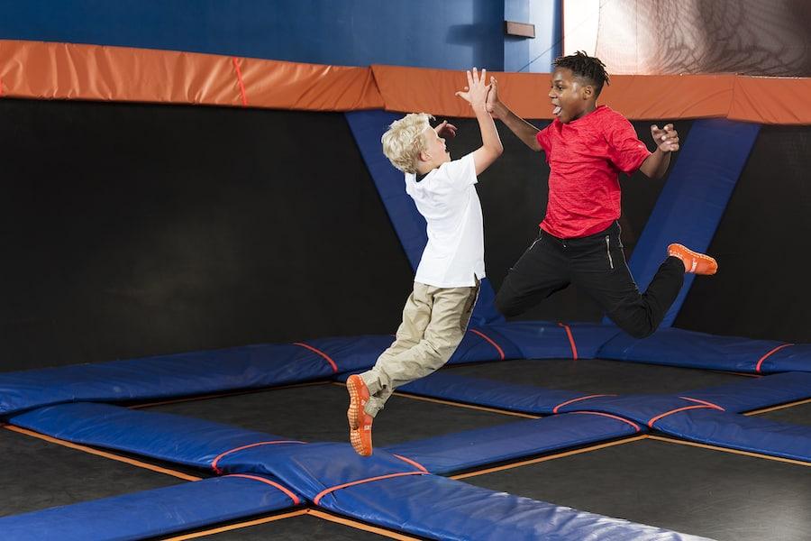 kids trampoline park CircusTrix