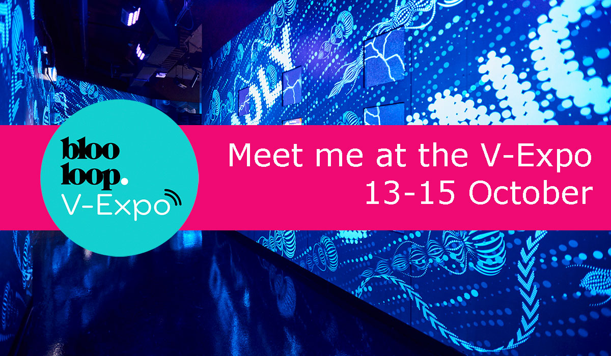 meet me at the blooloop v-expo