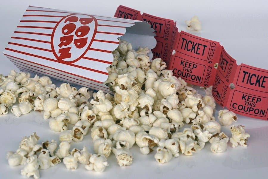 popcorn and cinema tickets - will COVID-19 see the end of the movie theatre