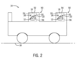Universal sanitisation ride vehicle patent
