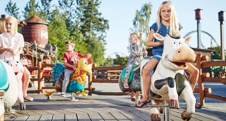 Djurs Sommarland Bondegardsland family owned theme parks