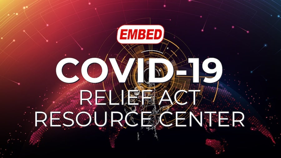 Embed COVID relief act resource center