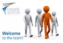 Endure Screens Welcome to the Team