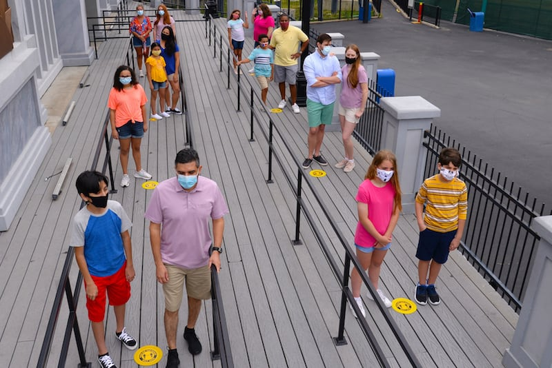 six flags frontier city health and safety coronavirus theme parks reduced capacity