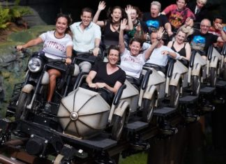 Hagrid's Magical Creatures Motoribike Adventure experience concept attractions