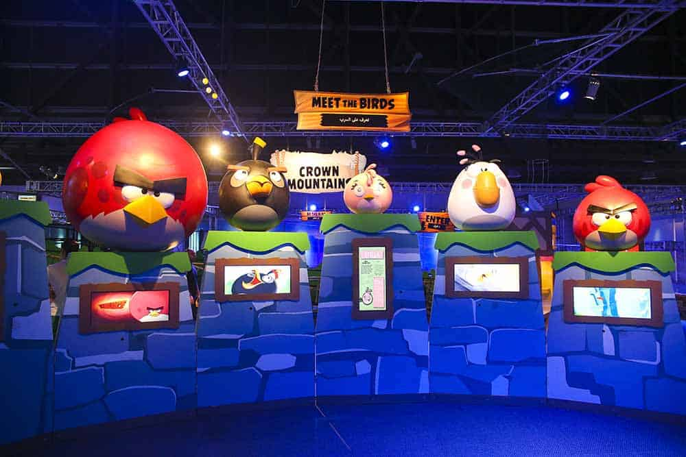 Meet the Birds at Angry Birds Universe by Imagine Exhibitions