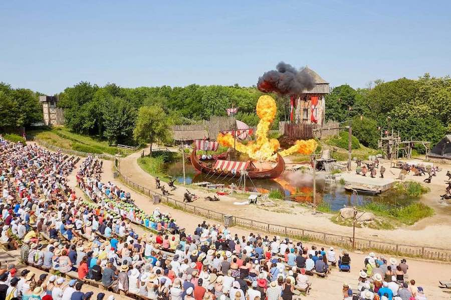 Puy Du Fou Les Vikings family owned theme parks