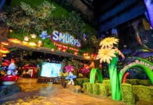 KCC Entertainment Design Smurfs Theme park entrance