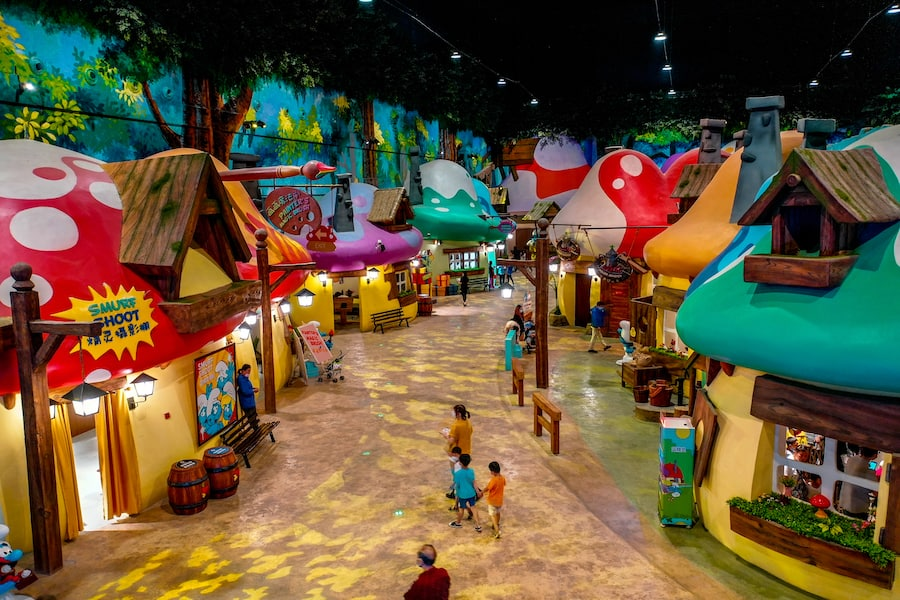 Smurfs_Theme_park_village