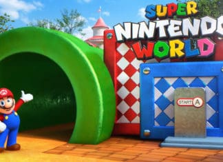 news from the attractions industry - coronavirus causes delay to Super Nintendo World