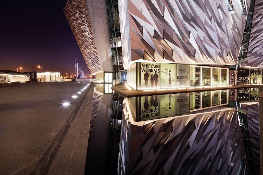 Titanic Belfast Attractions COVID 19 positives